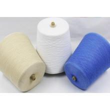 Tejido de alta calidad que hace punto hilado de seda teñido o sin procesar