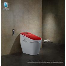 Inodoro bidé de cerámica sanitaria Inodoro inteligente contemporáneo baño de hotel baño mexico