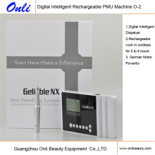 Machine de rechargeable Pmu Machine d'alimentation en tatouage Maquillage permanent Maquillage Soins de la peau