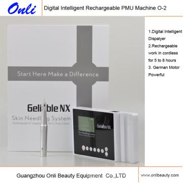 Machine de rechargeable Pmu Machine d'alimentation en tatouage Maquillage permanent Maquillage Soins de la peau