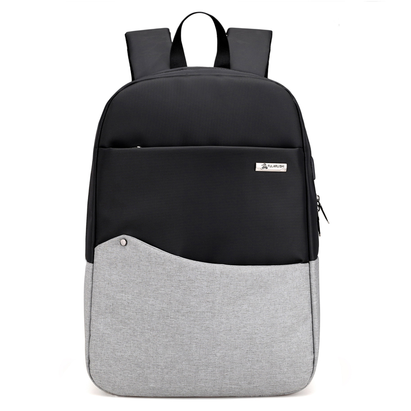 Custom Unisex Business Laptop Backpack With USB Charger