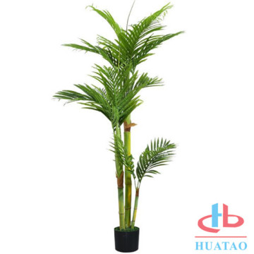 Bonsai da planta artificial com Potted para o presente Home