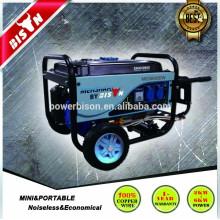 Air Cooled Longa Corrida 2kva 2000w 4 Stroke 6.5hp Cam Gerador De Gasolina Profissional Set