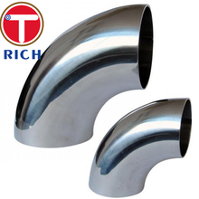 Seamless Stainless Steel 90 Degree LR Elbow