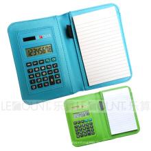 Notebook Taschenrechner mit Kugelschreiber (LC805A)