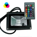 10W RGB LED Flood Light with Remote Controller