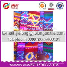 2017 rollos de tela de poliéster barato color para sábana en weifang