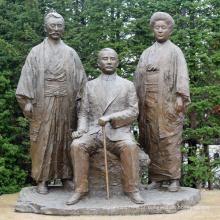 Esculturas japonesas de bronze BS013A