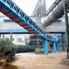 Langstrecken-Röhrenbandförderer / Pipe Conveyor für EPC