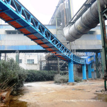 Long Distance Tubular Belt Conveyor / Pipe Conveyor for EPC