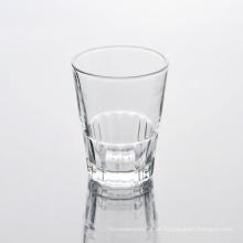 Tamanho padrão por atacado do copo bebendo do vidro de tiro