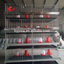 Aseguramiento comercial Tipo A y jaula de polluelo de bebé de tipo H