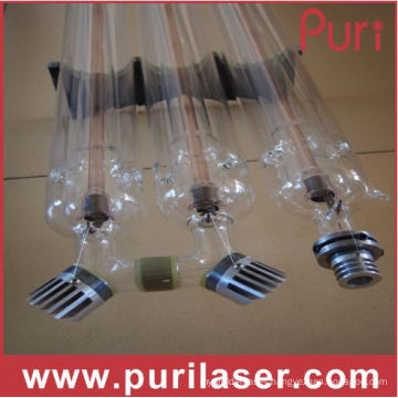 300W CO2 Laser Tube with 1600mm Length and 80 Diameter