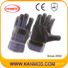 Dark Furniture Leather Industrial Safety Work Gloves (310041)