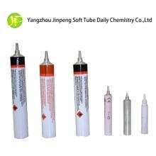 Tubo de compresión de aluminio para pegamento con boquilla especial