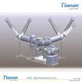 Appareil de commutation isolé Gis-Gas haute tension de 126kv (ZFW-126 / T2500-40)