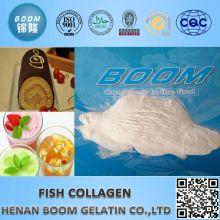 Péptido de colágeno de peixe em saúde e medicina