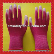 Bamboo Fiber PU Coated Garden Gloves