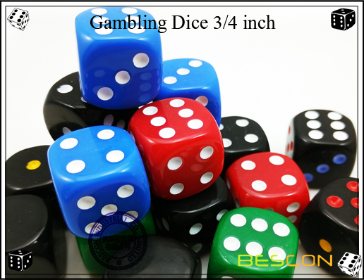 Gambling dice 19MM