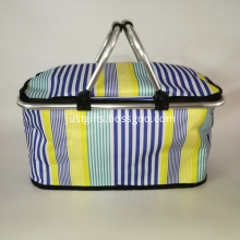 Promotional foldable shopping basket