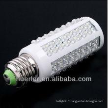 Vente chaude 100-240v 120 leds 12 / 24v 12-24v 24v e26 e27 7w 12v mini ampoule