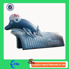 dolphin inflatable tunnel inflatable sports tunnel for sale