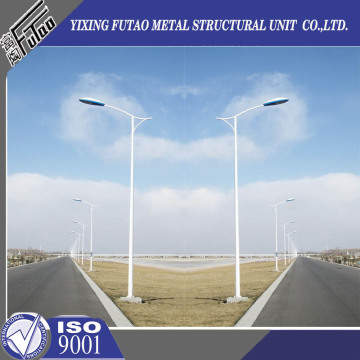 Galvanized 9M Lighting Poles