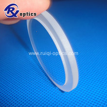 80mm Single Crystal Barium Fluoride (BaF2) Windows