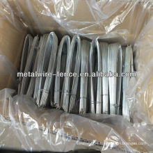 Soft galvanized U type wires