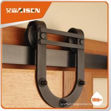 Avec une usine de garantie de qualité directement des rouleaux de portes coulissantes en acier roue à partir de matériel de meuble