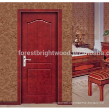 Puerta de madera moldeada melamina asequible