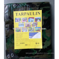 polyethylene rainproof camping camouflage tarpaulin sheet supplier