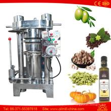 Prensa de aceite de la nuez de la linaza del sésamo de la almendra del cacahuete que hace precio de la máquina