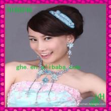 Novo vendedor de jóias Tiara Rhinestone Jóias de jóias da coroa de casamento