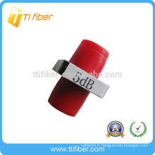 Atténuateur à fibre fixe FC 5dB