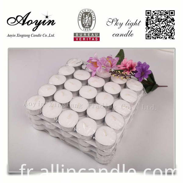100pcs tealight candle