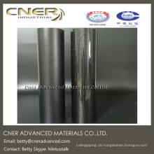 3K Carbon Fiber Tube, 30mm Länge, Vollcarbonrohr, glänzend, mattes Finish erhältlich