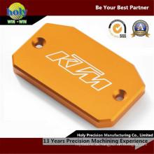 CNC-Bearbeitung anodisierte Aluminiumplatte mit Lasergravur