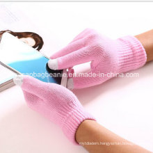 Promotional Nylon Acrylic Magic Touch Screen Smart Phone Gloves
