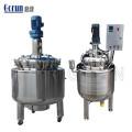 Champú líquido cosmético del mezclador del acero inoxidable 200l, máquina de mezcla de fabricación detergente, el tanque de mezcla cosmético farmacéutico