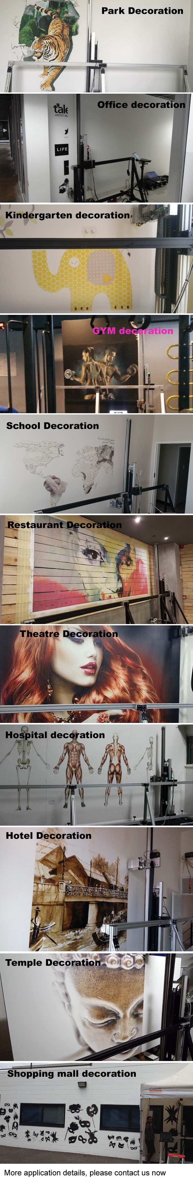 wall printer application