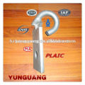 power low voltage overhead lines fitting Steel Hook electric line hardware,electric monopole fitting