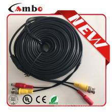 Câble OEM cctv avec connecteur DC BNC pour caméra cctv