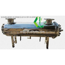 Agua pura que hace la lámpara de la máquina que hace la máquina filtro antibacteriano del agua