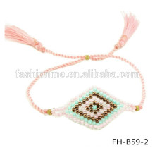 stock wholesale handmade seed bead evil eye jewelry