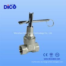 Válvula de compuerta de imán de acero inoxidable (Z15W-16P)