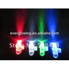 Luz LED dedo brilho venda quente 2017