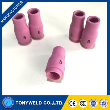 WP9 / WP20 TIG Piezas de la antorcha boquilla de cerámica de argón 13n09