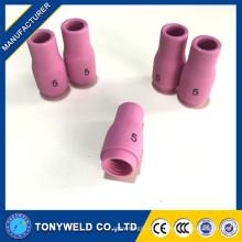 WP9 / WP20 TIG Torch pièces buse en céramique argon 13n09