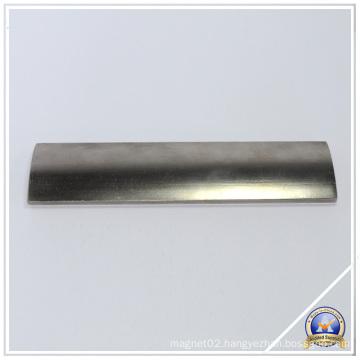 Arc Neodymium Permanent Magnet for The Motor-Driven Machine